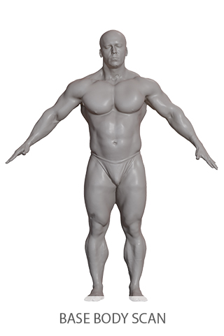 3D Base Body Scans