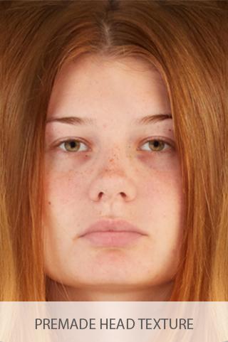 Premade Head Textures