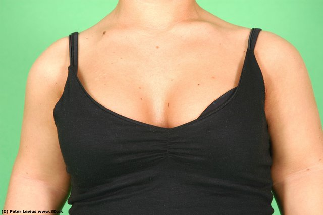 Chest Whole Body Woman Casual Average Studio photo references