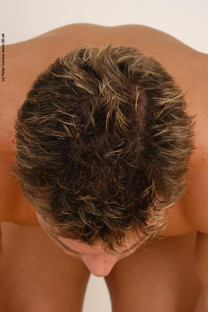 Head Man White Nude Muscular
