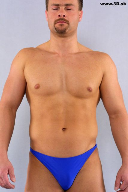 Upper Body Whole Body Man Artistic poses Underwear Average Studio photo references