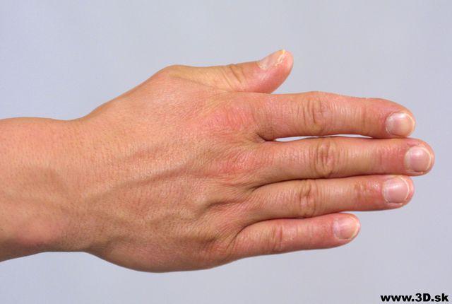 Hand Whole Body Man Underwear Average Studio photo references