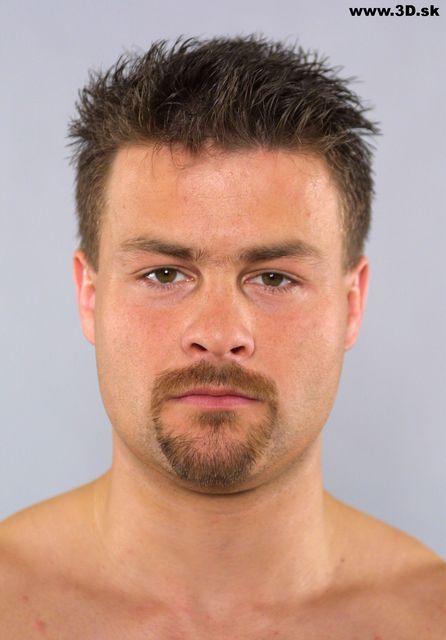 Whole Body Head Man Underwear Average Studio photo references