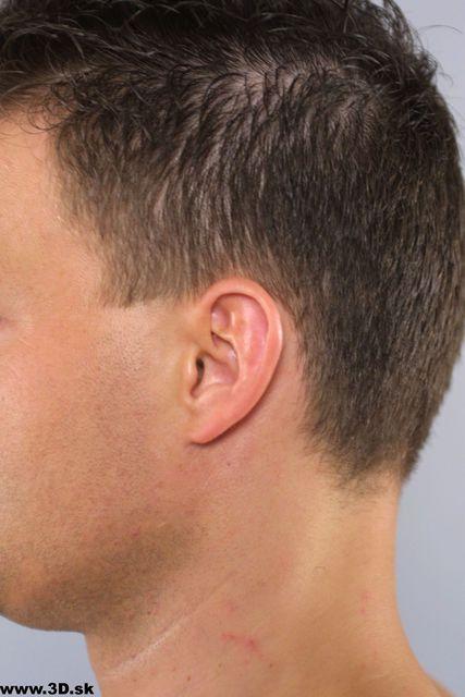 Ear Whole Body Man Underwear Average Studio photo references