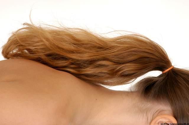 Hair Woman White Average