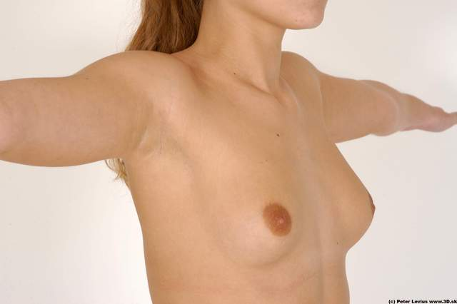 Chest Woman White Nude Average