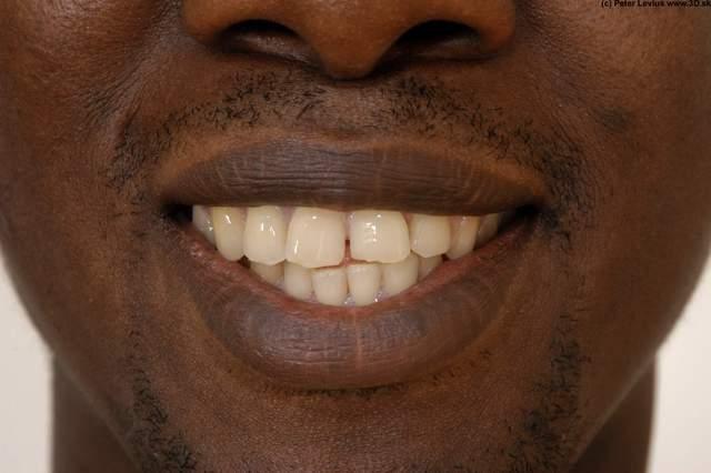 Whole Body Teeth Man Hand pose Nude Underwear Average Studio photo references
