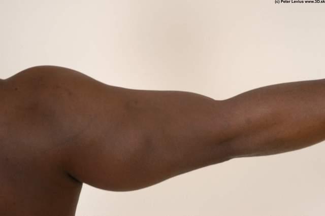Arm Hand Whole Body Man Hand pose Animation references Nude Underwear Average Studio photo references