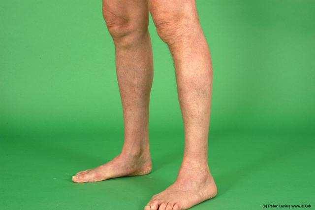 Calf Man White Nude Average