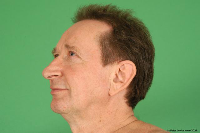 Head Man White Nude Average