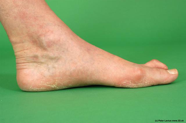 Foot Man White Nude Average