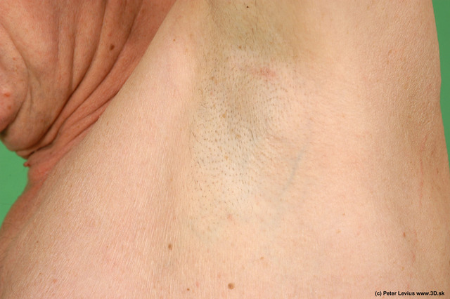 Underarm Man White Nude Average