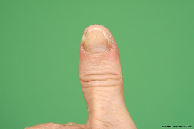 Fingers Man White Nude Average