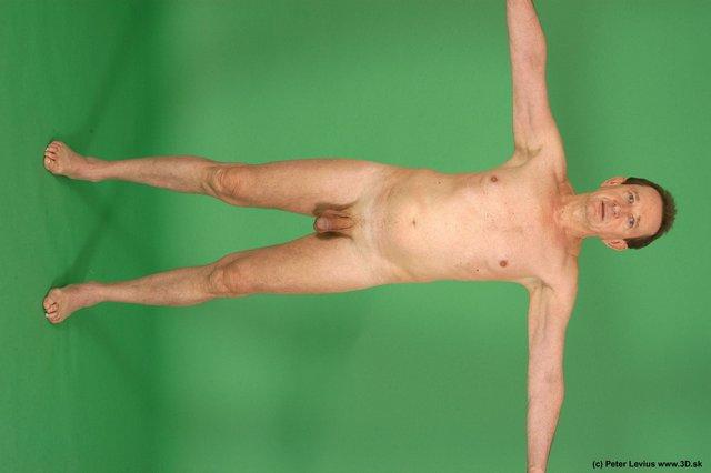 Whole Body Man White Nude Average