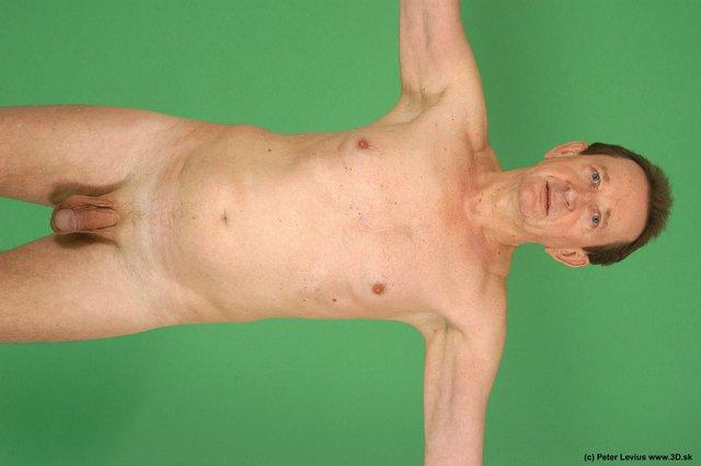 Upper Body Man White Nude Average