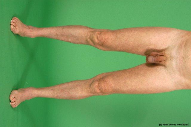 Leg Man White Nude Average