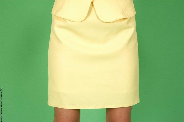 Thigh Woman White Formal Slim