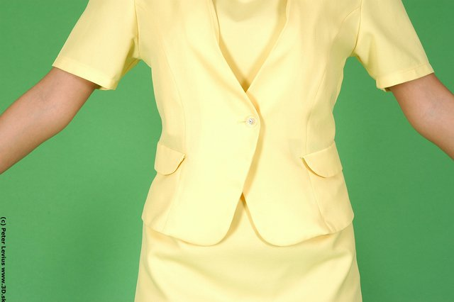 Belly Woman White Formal Slim
