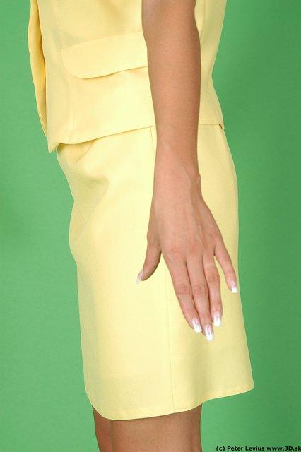 Arm Woman White Formal Slim