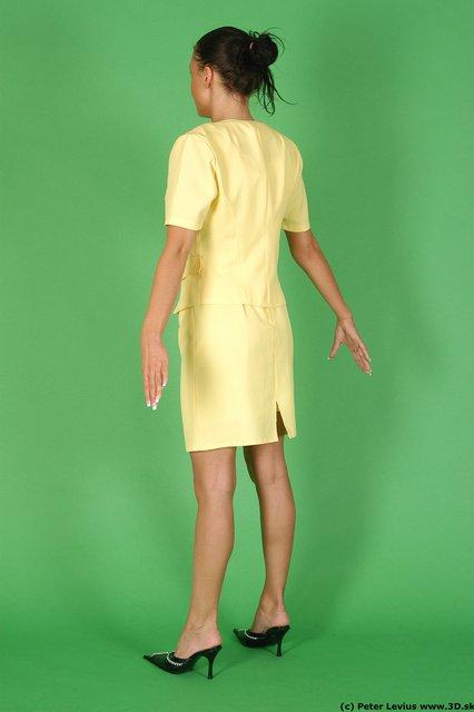 Whole Body Woman White Formal Slim