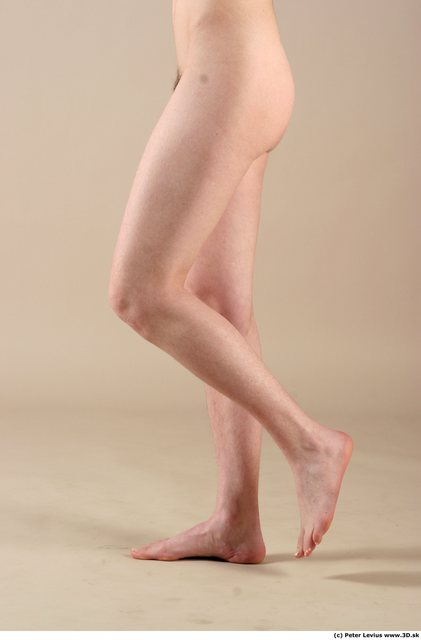 Leg Woman Animation references White Nude Slim