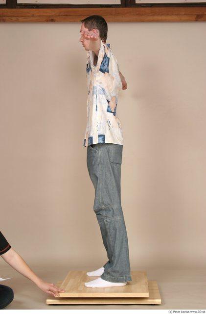 Whole Body Man White Casual Slim