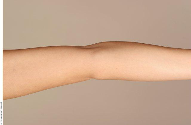 Forearm Woman White Nude Chubby