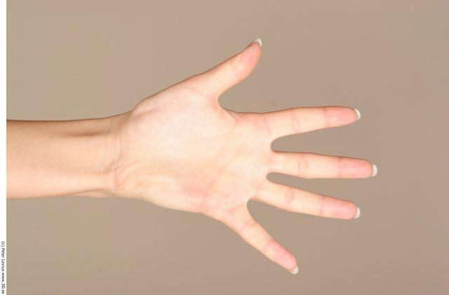 Hand Woman White Nude Chubby