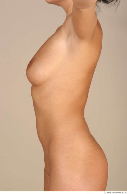 Upper Body Woman White Nude Chubby