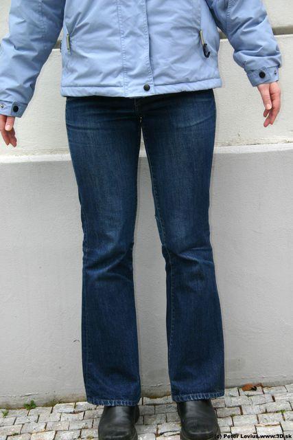 Leg Woman White Casual Athletic