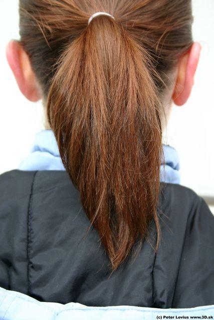 Hair Woman White Athletic