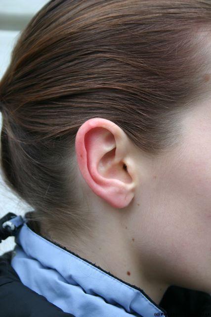 Ear Woman White Athletic