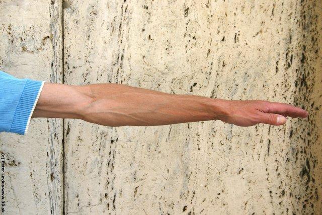 Arm Man White Casual Slim