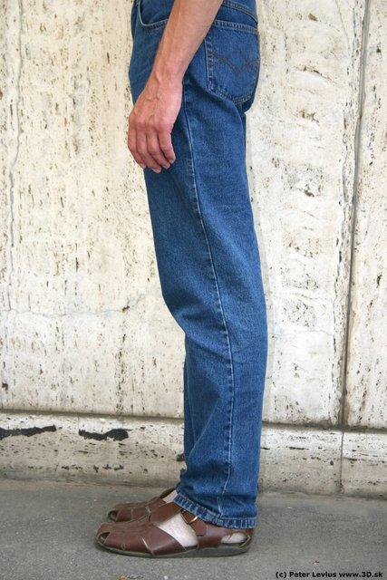 Leg Man White Casual Slim