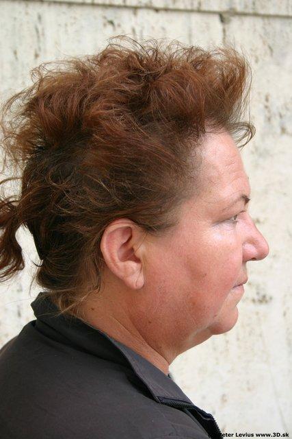 Head Woman White Chubby
