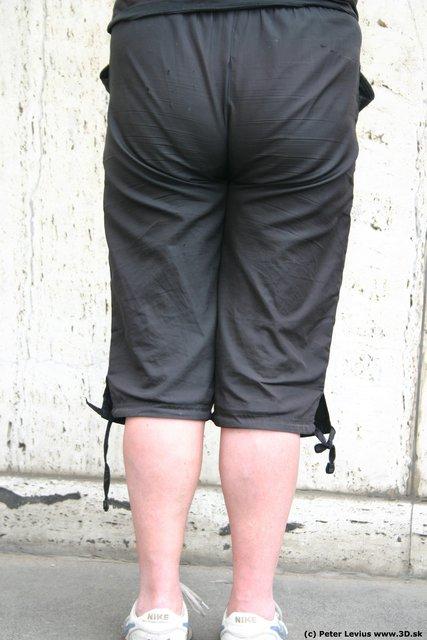 Leg Woman White Casual Chubby