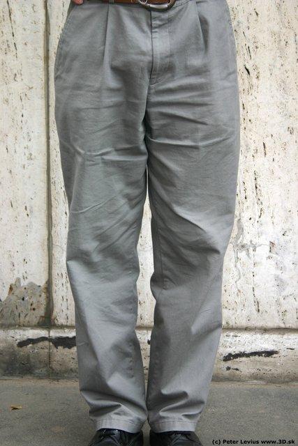 Leg Man White Casual Average