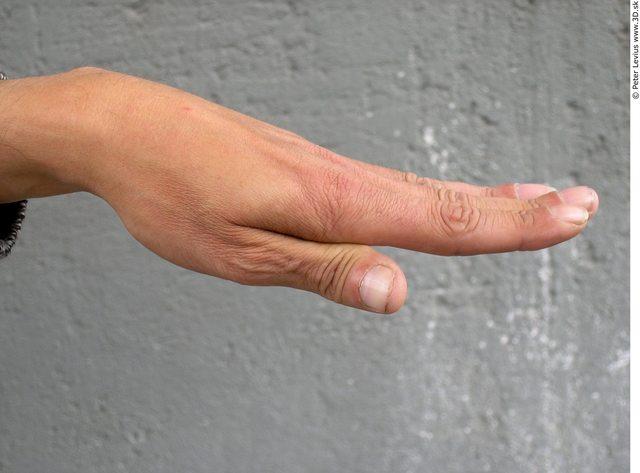 Hand Whole Body Man Woman Underwear Bra Slim Average Street photo references