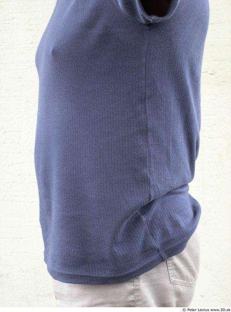 Belly Whole Body Man Woman Casual Underwear Bra Slim Average Street photo references