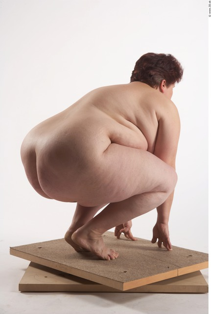 Whole Body Woman Other White Nude Overweight