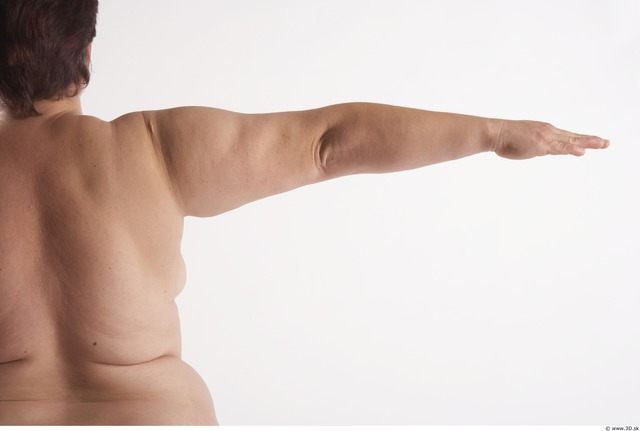 Arm Woman Animation references White Nude Overweight