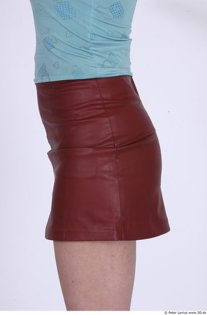Hips Whole Body Woman Casual Skirt Average Studio photo references