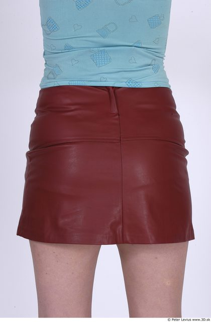 Whole Body Bottom Woman Casual Skirt Average Studio photo references