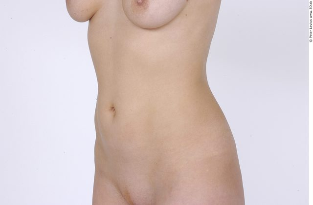 Belly Whole Body Woman Nude Average Studio photo references