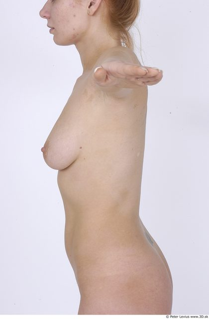Upper Body Whole Body Woman Nude Average Studio photo references