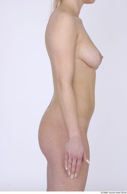 Arm Whole Body Woman Nude Average Studio photo references