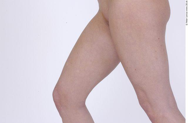 Thigh Whole Body Woman Nude Average Studio photo references