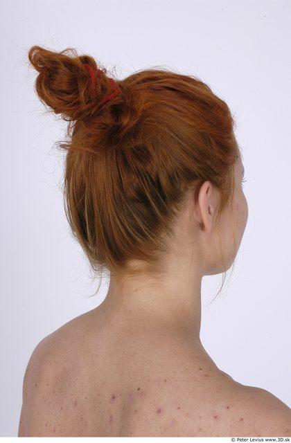 Whole Body Head Woman Average Studio photo references