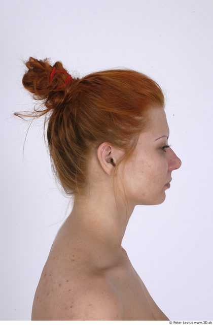 Whole Body Head Woman Average Studio photo references