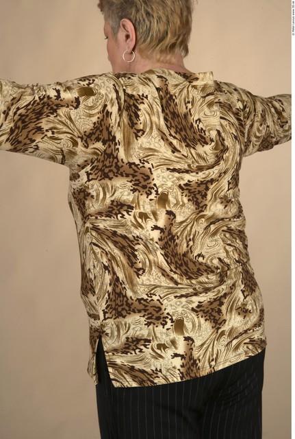 Upper Body Whole Body Woman Formal Shirt T shirt Chubby Studio photo references